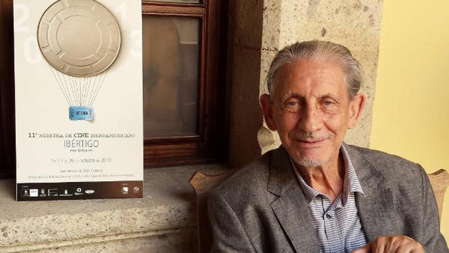 Vértigo recuerda el paso de Basilio Martín Patino por Las Palmas de Gran Canaria