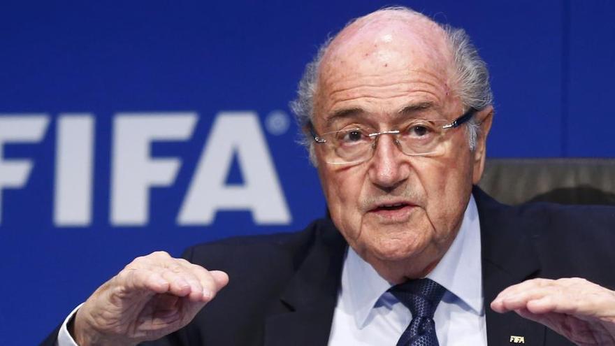 Blatter, investigado en Suiza por un préstamo de la FIFA