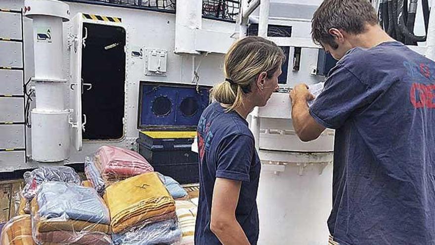 El 'Alan Kurdi' retoma fuerzas en Palma