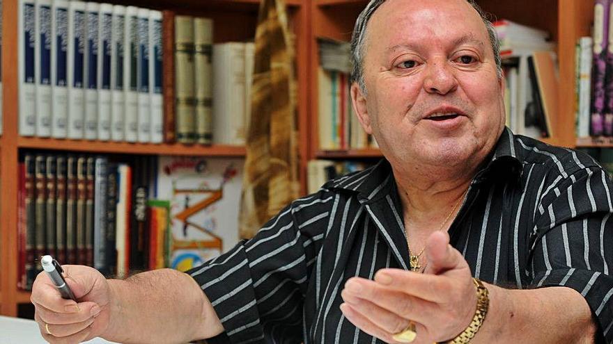 L'històric president veïnal de Valldaura Fernández Poderoso va morir als 78 anys