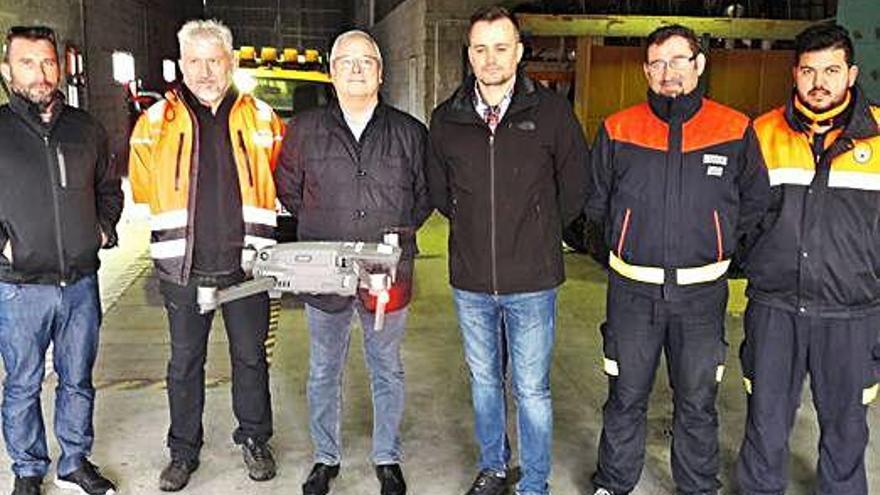 Protección Civil de Arteixo contará con la ayuda de un dron en sus servicios