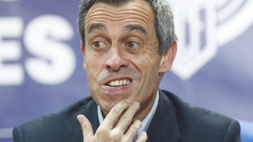"""Del Pozo se declara """"desilusionado"""" por el bajo rendimiento de la plantilla del Hércules"""