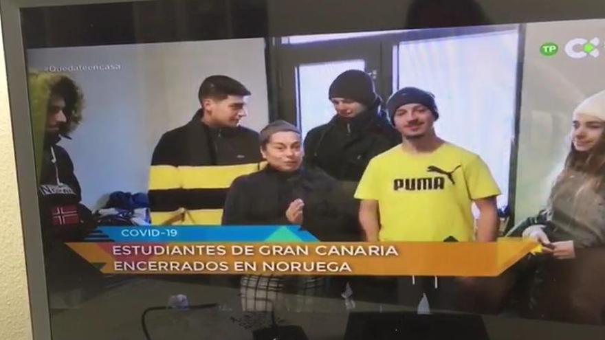 Alumnos de Erasmus de Gran Canaria, 'atrapados' en Noruega