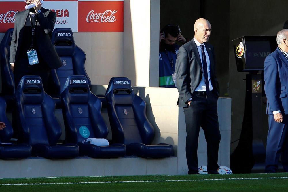 Las imágenes del Villarreal - Real Madrid