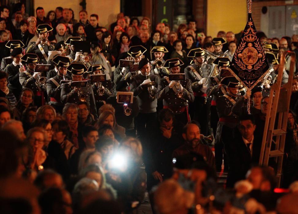 Procesión de la Hermandad de los Estudiantes de Oviedo