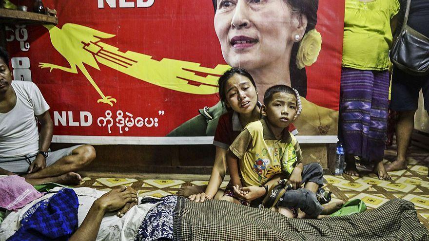 Myanmar en peligro