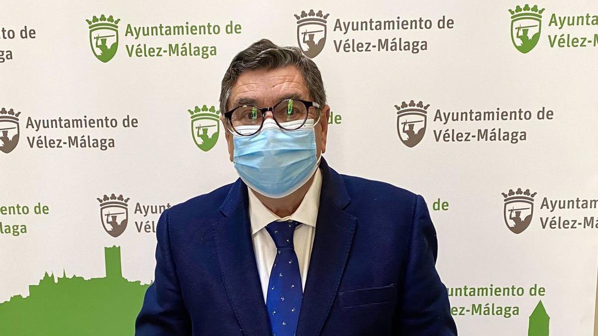 El alcalde de Vélez-Málaga, Antonio Moreno Ferrer