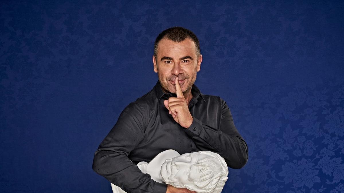 Jorge Javier Vázquez, en una imagen promocional de su espectáculo 'Desmontando a Séneca'.