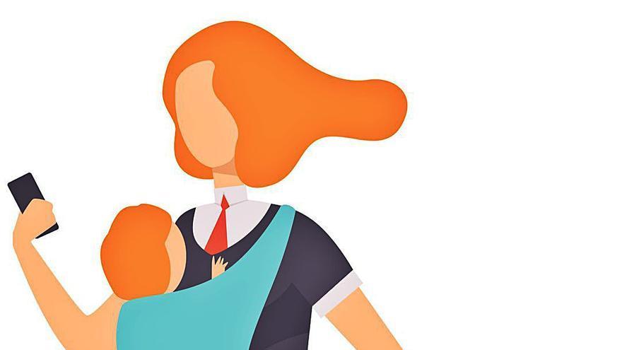 Madres en la cúspide de la empresa