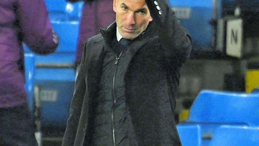 Zidane tiene pensado irse