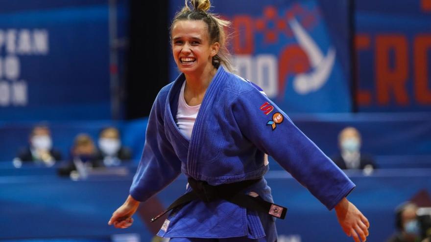 Nina Esteo, campeona de Europa en la categoría de -52Kg
