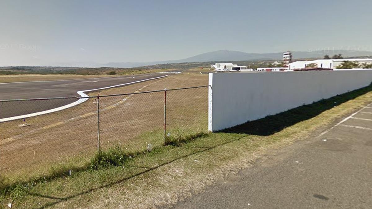 El aeropuerto de El Lencero, junto al que se produjo el accidente.
