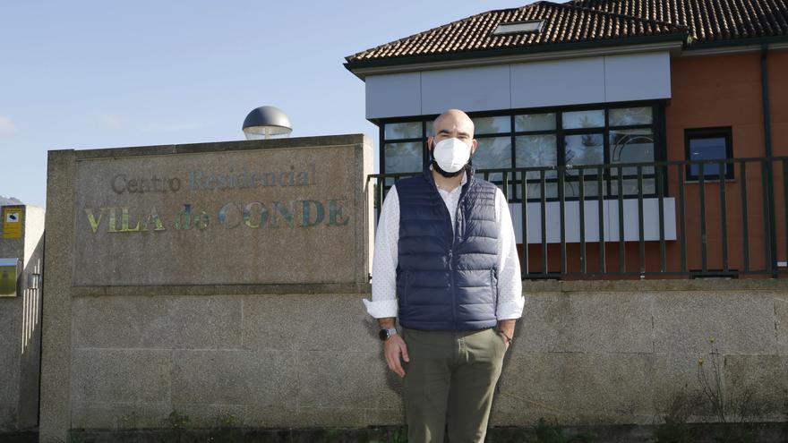 El brote de la residencia de Gondomar se agrava y afecta ya a 110 usuarios