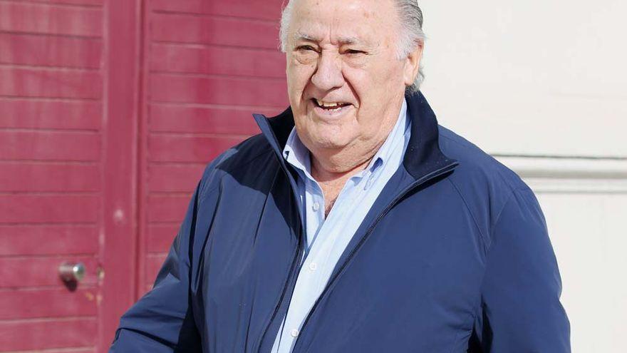 Armancio Ortega cae al puesto 11 de la lista Forbes