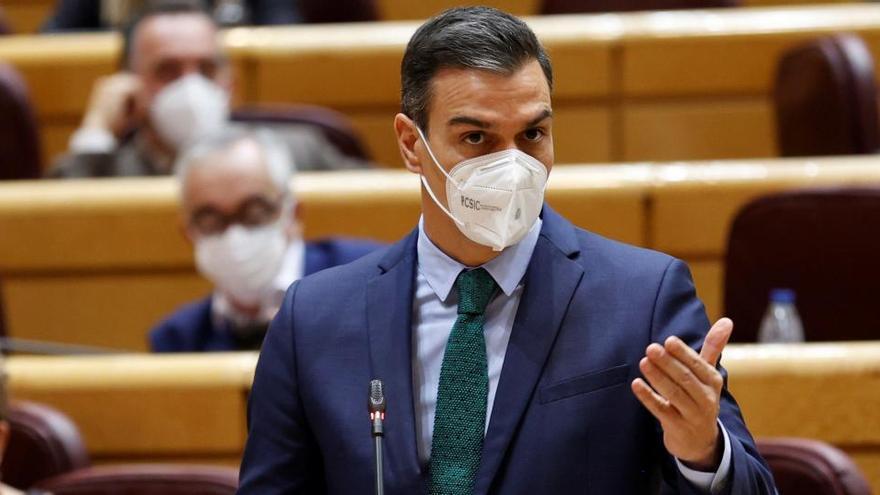 Sánchez presenta este martes un informe del cumplimiento del acuerdo de investidura