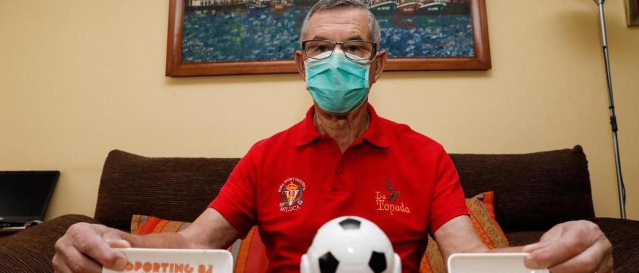 Alonso Miluca, con recuerdos de su paso por el Sporting