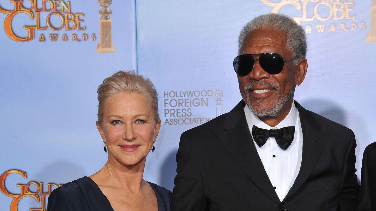Helen Mirren y Morgan Freeman.