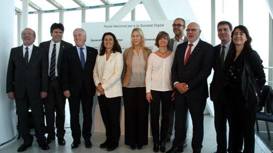 Govern, Diputacions i ens locals uneixen esforços per desenvolupar la societat digital catalana