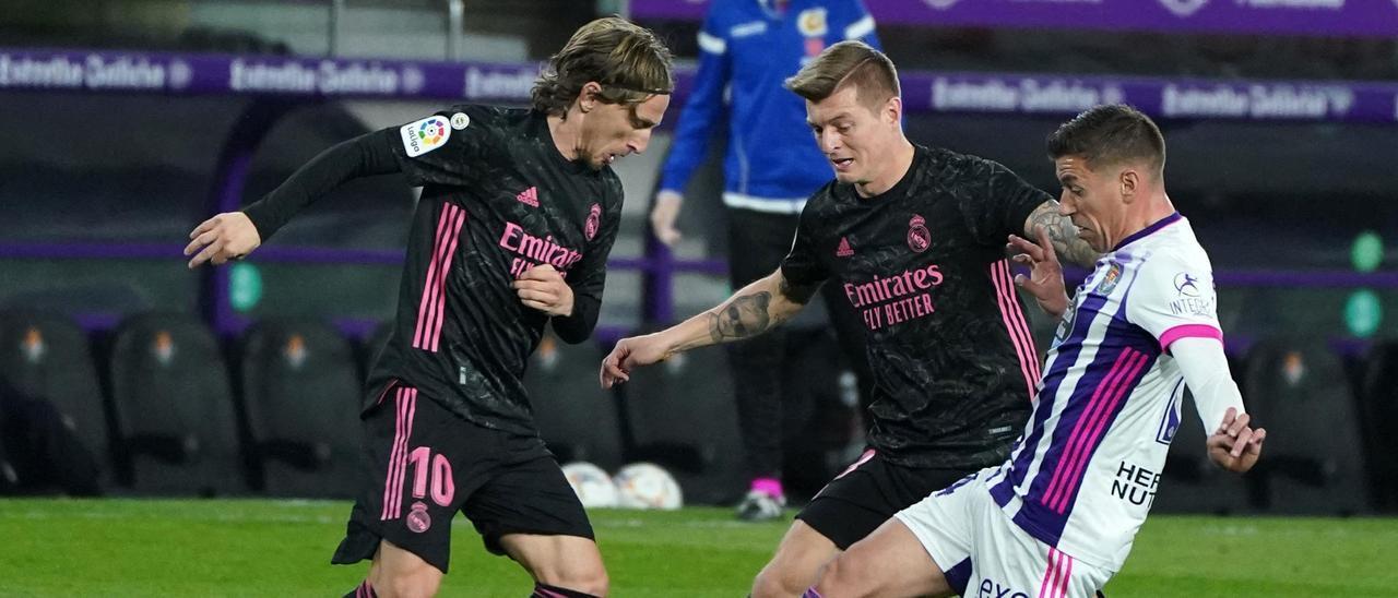 Un encuentro entre el Real Madrid y el Valladolid