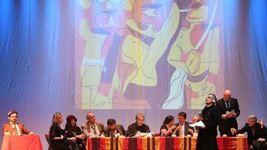 El grupo de teatro de Alexandre Bóveda celebra su XX aniversario