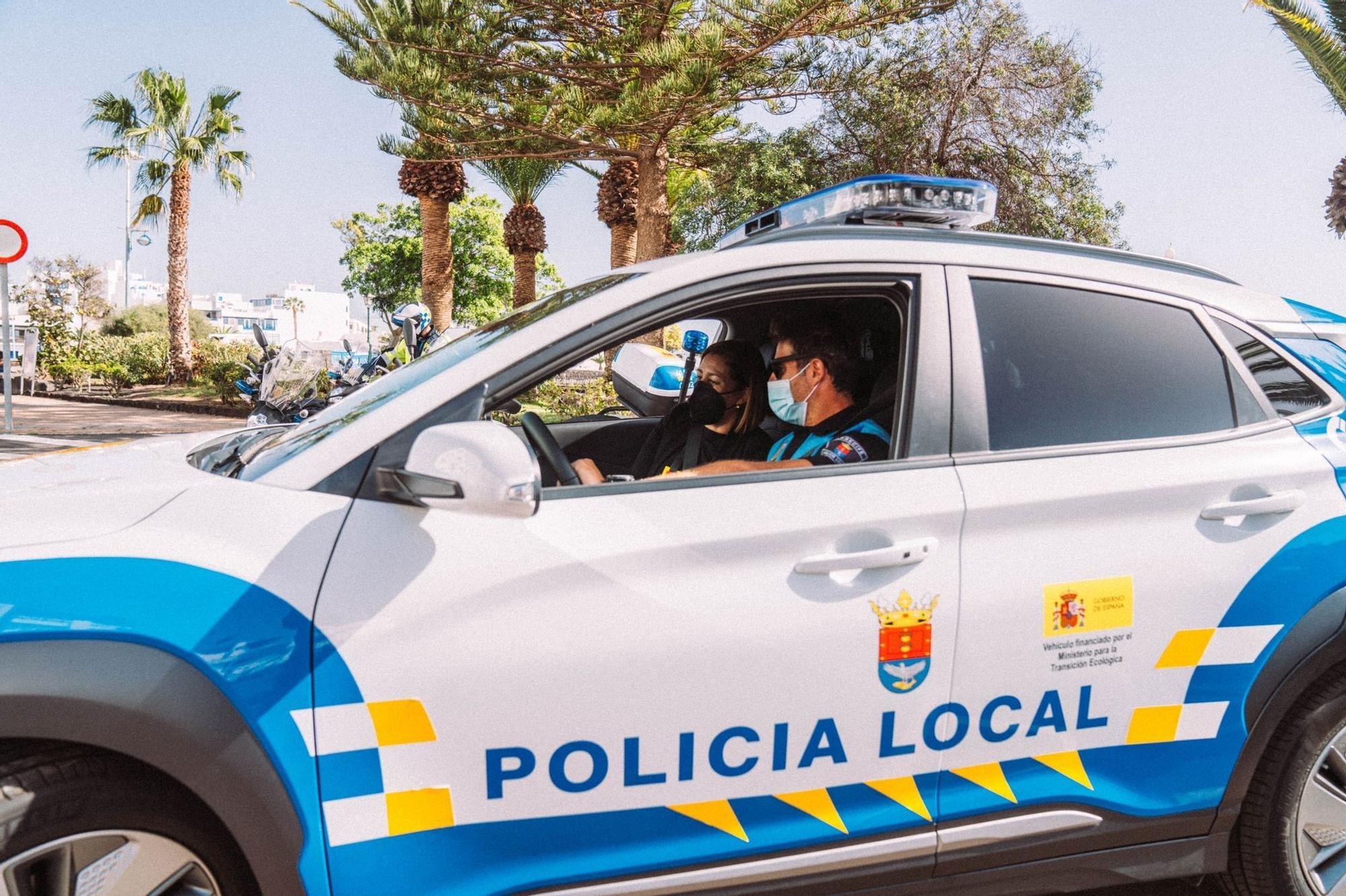 Arrecife incorpora nuevos vehículos para la Policía Local