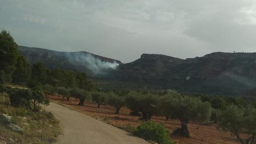 Extinguido el fuego declarado en Jalance