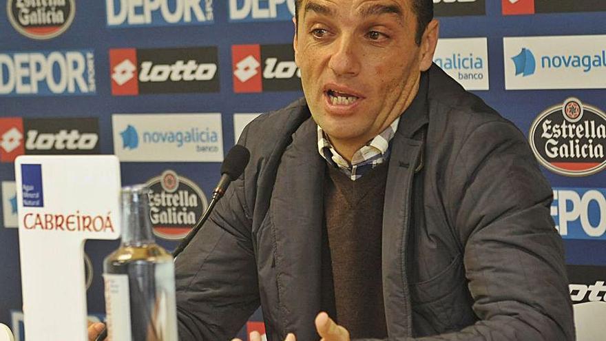 El exdeportivista José Luis Oltra, nuevo entrenador del Fuenlabrada