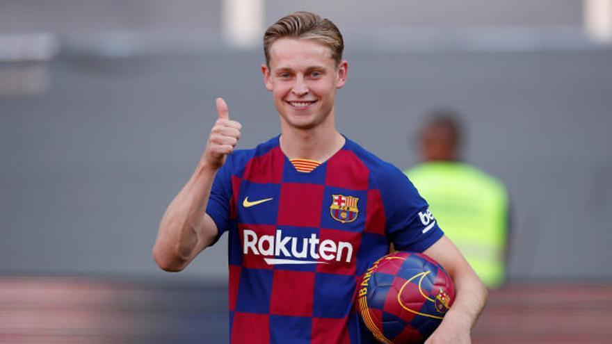 """De Jong """"Fue muy fácil para mí decidirme por el Barça"""""""