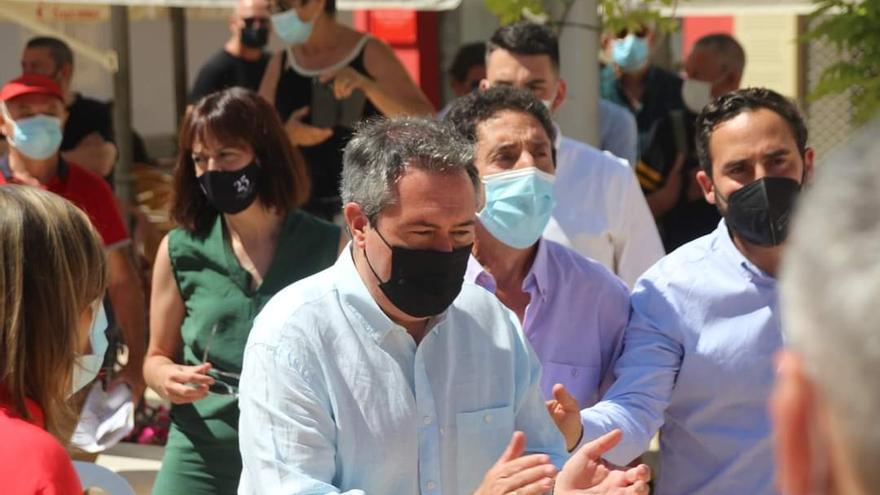 Juan Espadas aspira a que el PSOE-A marque la posición del socialismo en España