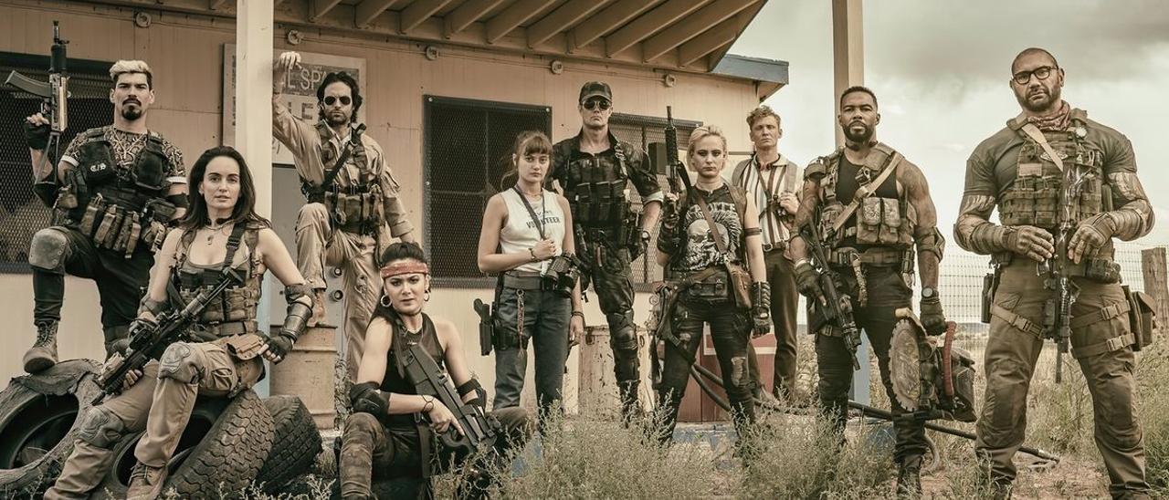 'Ejército de los muertos', de Zack Snyder: mercenarios contra zombis