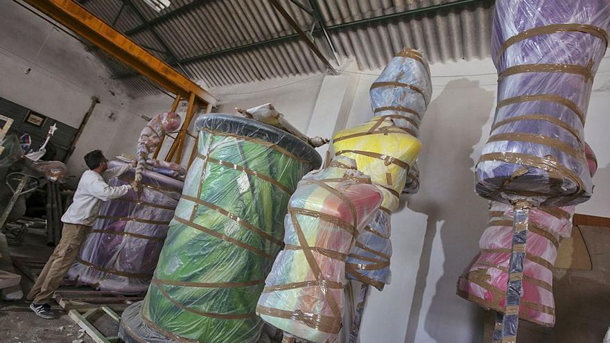 El Consell sale al rescate de los artesanos festeros con ayudas de hasta 7.000 euros