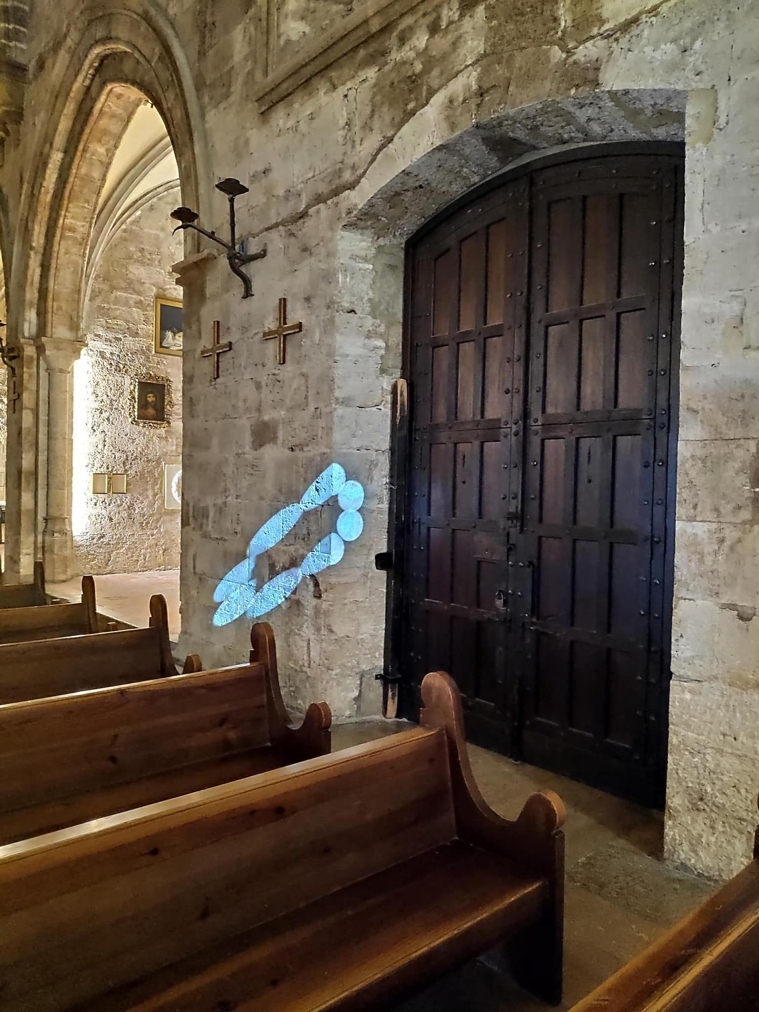La misteriosa corona de luz de San Juan del Hospital