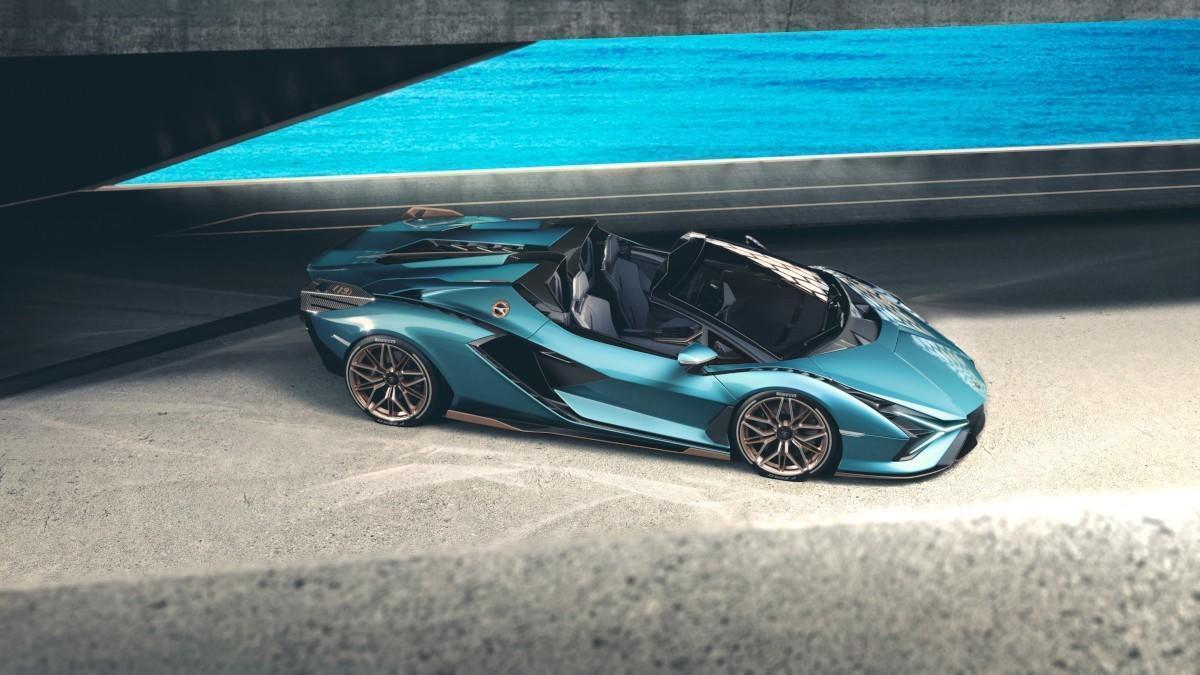 Sián, el nuevo 'rayo' de Lamborghini