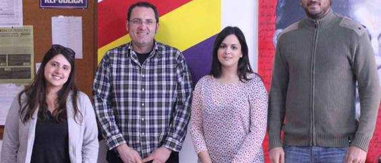 Guillermo Sampedro y Nerea Almiñana encabezan la lista de EU Sagunt