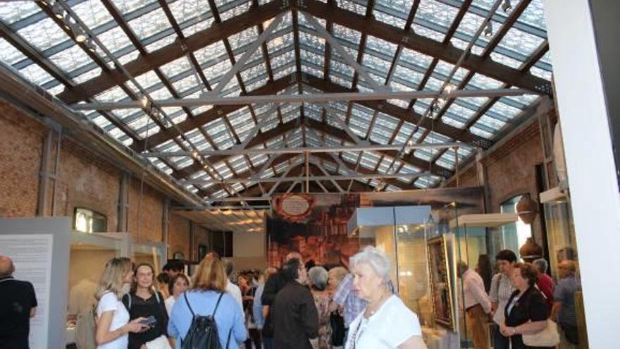 El Museu de la Mar de Dénia va viento en popa: ya supera los 15.000 visitantes