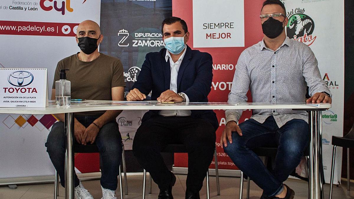 Presentación del evento deportivo, ayer en Toyota. | Sara Rodríguez