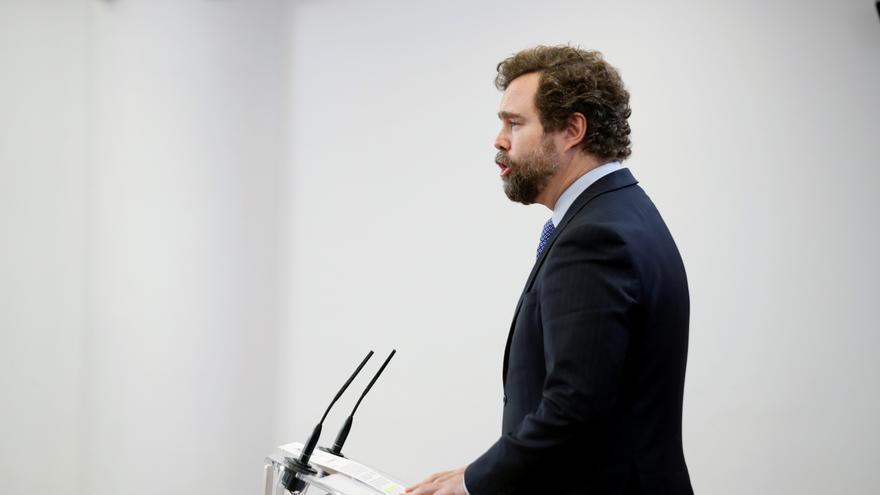 """Vox avisa de """"un golpe de Estado a cámara lenta"""" y señala al Gobierno"""