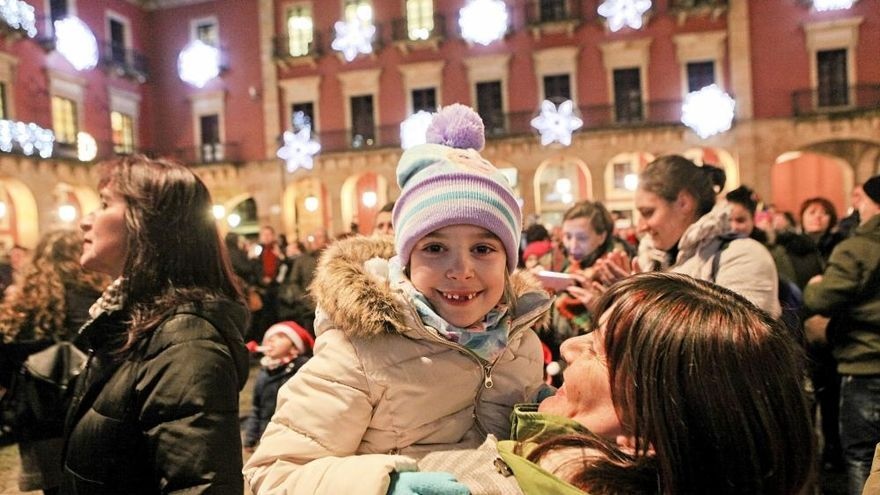 Gijón ilumina la Navidad