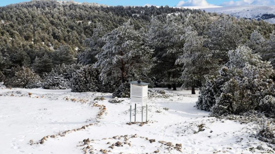 El tiempo en Valencia: alerta naranja por nieve