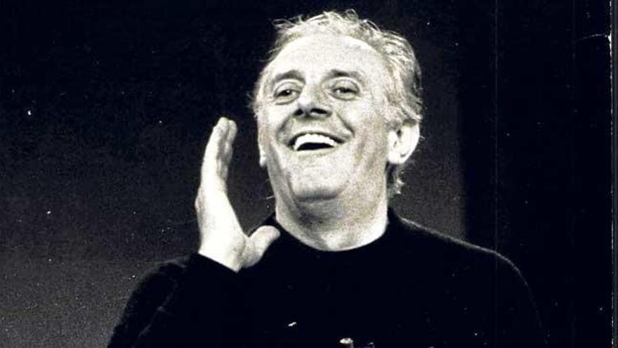 Darío Fo hizo reír a los mallorquines y llenó el Auditòrium en dos ocasiones