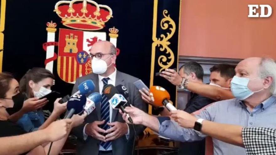 Pestana rechaza cerrar el campamento de migrantes de Las Raíces
