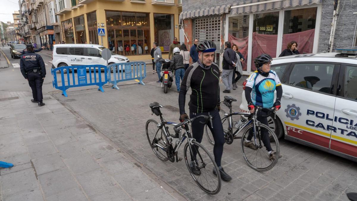 Cartagena vuelve a cerrar su centro al tráfico