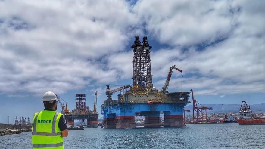 Bergé impulsa su negocio 'offshore' en Canarias para la reparación de plataformas petrolíferas