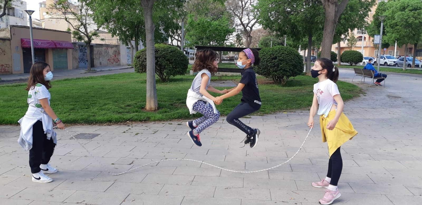 Cerca de 7.000 alumnos de Baleares participan en el día de la Educación Física en la calle