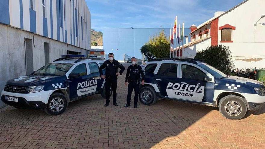 La Policía de Caravaca y Cehegín colaborarán en los controles perimetrales