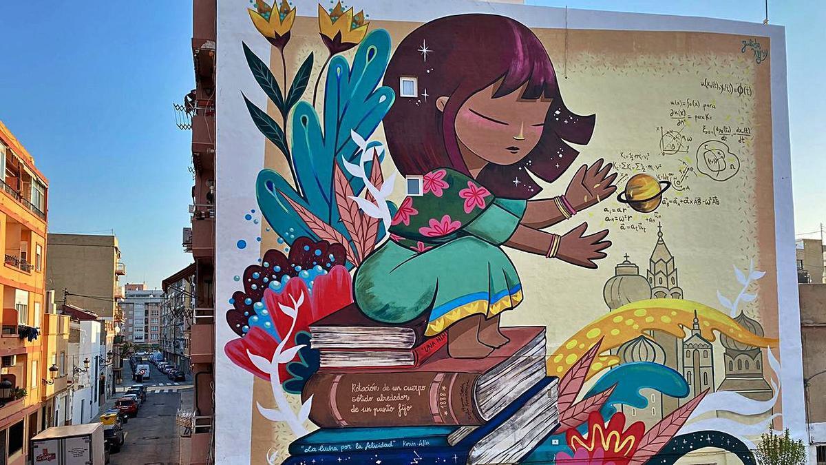 Nuevo mural en las calles del Cabanyal |