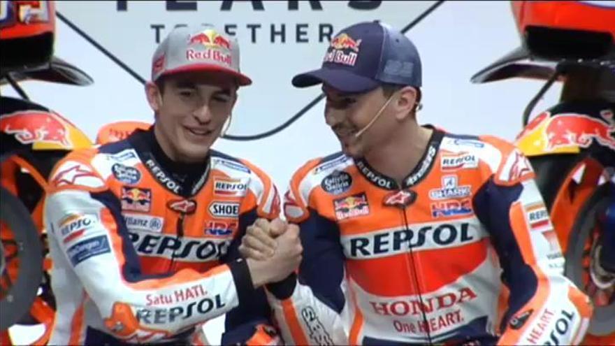 Repsol Honda presenta su equipo para MotoGP 2019