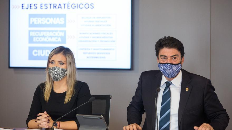 """El bipartito de Alicante """"activa"""" el Presupuesto de 2022"""