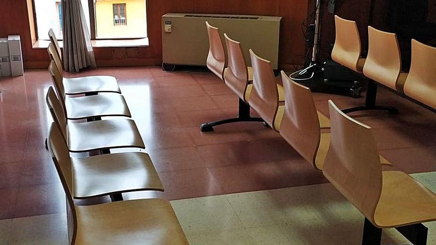 Problemas de aforo en las salas de vistas de Alzira obligan a derivar juicios a València