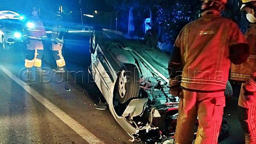 Tres accidentes en Palma, Llucmajor y Manacor dejan un muerto y siete heridos